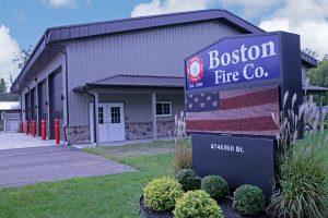 Boston Fire Department, Boston NY